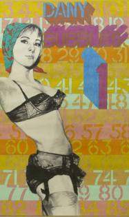 Pop Art Painting (1) by Ian Dury