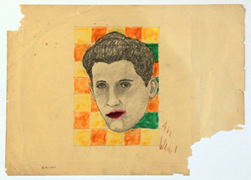 Is this an early Andy Warhol pop art sketch?